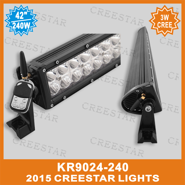 240W REMOTE CONTROL AMBER WHITE  LED WORK LIGHT BAR FOR SUV UTE 4X4 OFFROAD CAR BOAT TRUCK DRIVING BAR 12V 24V LED FLASH LIGHTS люстра накладная 06 2484 0333 24 gold amber and white crystal n light