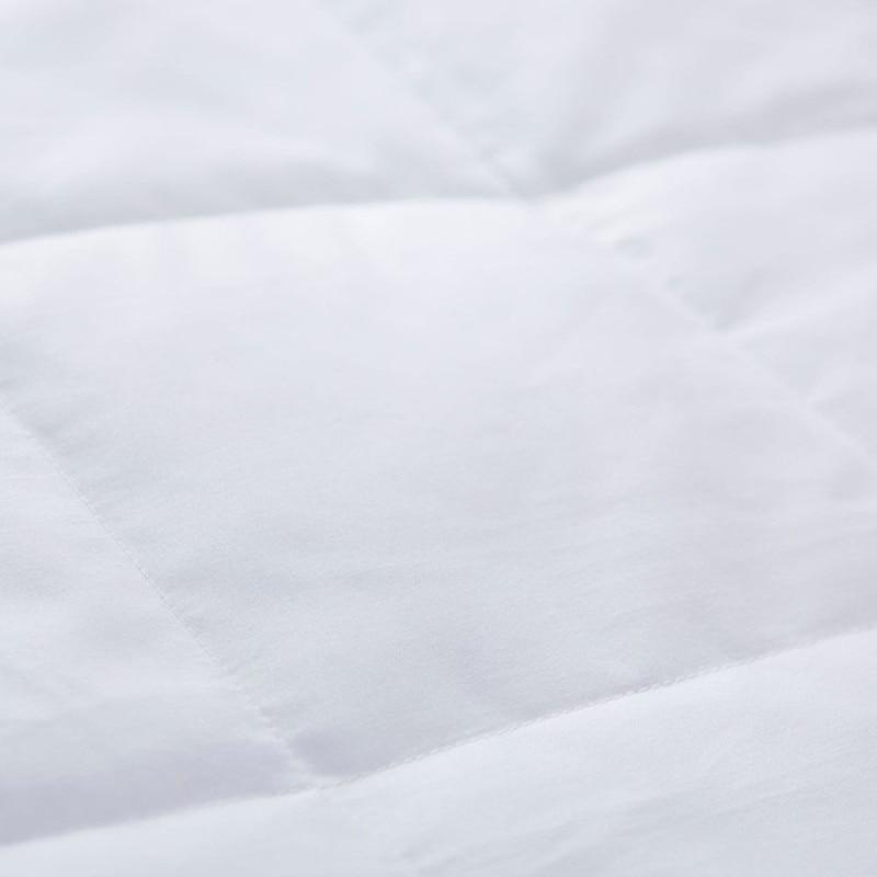 Daunendecke mit Satinbesatz 230 Fadenzahl 100% Baumwolle King 108 * - Haustextilien - Foto 4