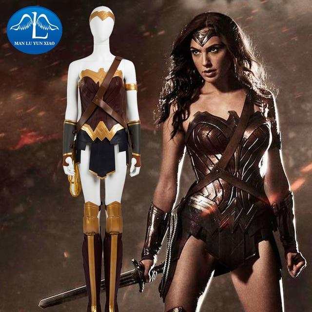 Manluyunxiao 2017 Justice League Batman V Superman Traje Cosplay Das