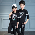 Unisex Clothing Sets Cotton Letter Boys Sports Suits Long Sleeve T-Shirts & Pants 2Pcs Spring Autumn Teenage Girls Outfits 6-14Y