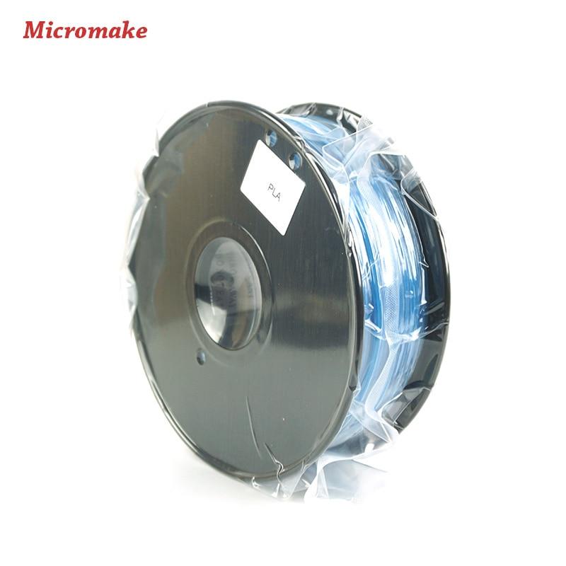 Micromake 3D Printer Parts Glow Filament High Quality Glow PLA 1 75mm for 3D Printer 1kg