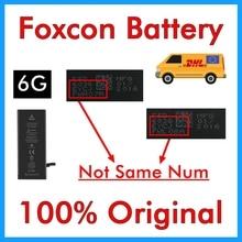 100% Original 20 pcs Foxcon แบตเตอรี่สำหรับ iPhone 6 6G 1810 mAh ของแท้คุณภาพ 0 cycle อะไหล่ซ่อม