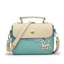2017 die Neue Weibliche Beutel, Japan und Südkorea Version des Kleinen Quadratischen Tasche Sein Paket Schulter Tasche Marke Damen Tasche