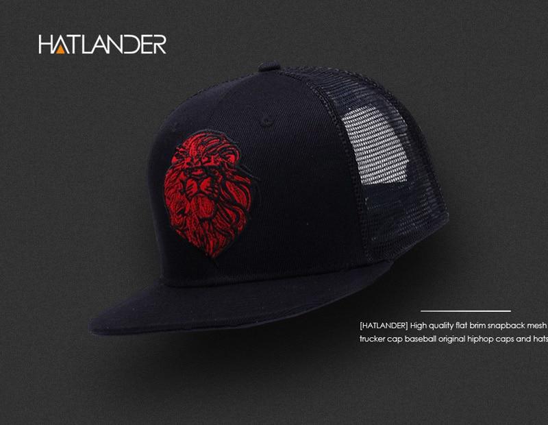 black trucker hat -