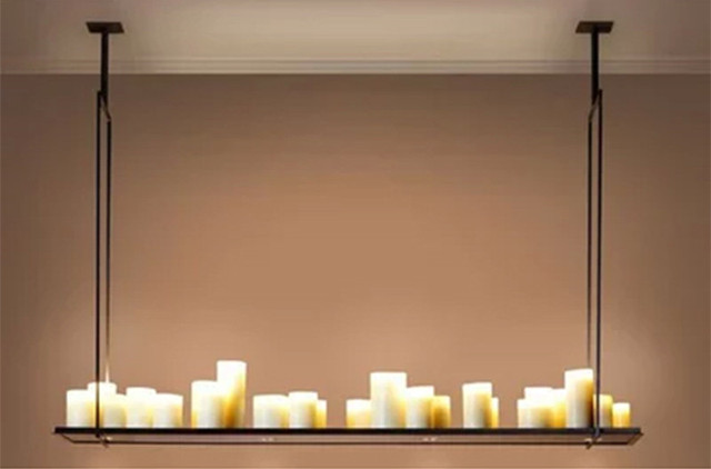 Lampade A Sospensione Led : Kevin reilly altare moderna lampada a sospensione led candela