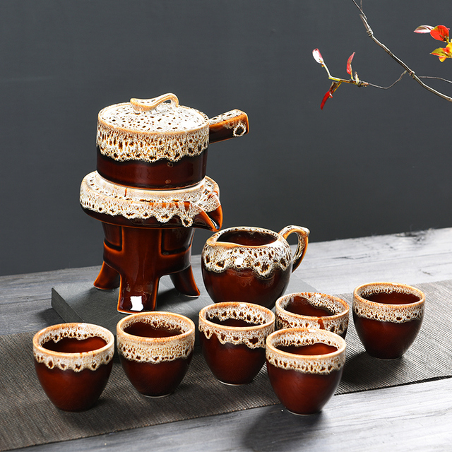Beautiful Gifts Box Ceramic Tea Sets Infuser Chinese Cups Party Set Wedding