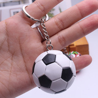 30pcs 2018 Russia World Cup Football Key Chains Souvenirs Germany Spain Portugal Brazil Flag Men women Keychain Pendant Gifts