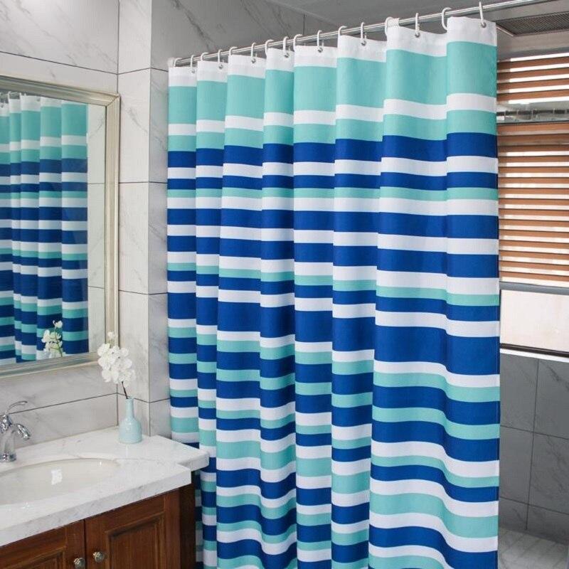 Fashion Waterproof Shower Curtain Eco Friendly Shower