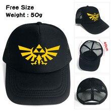 The Legend of Zelda Link Shield Men Women Boys Girls Mesh Base Ball Cap Hat  Cosplay fbb2b0c8a817