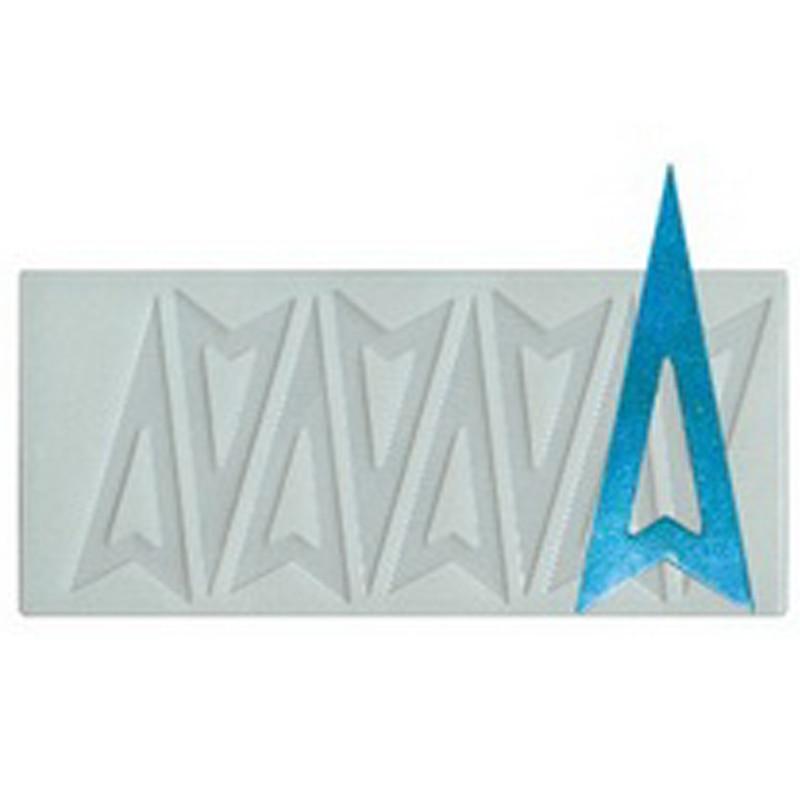 ღ ღEnvío gratis triángulo molde de silicona de Chocolate ; dulces ...