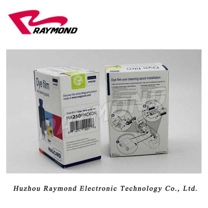 Magicard MA250 ymcкок цветная лента для принтеров Enduro Duo
