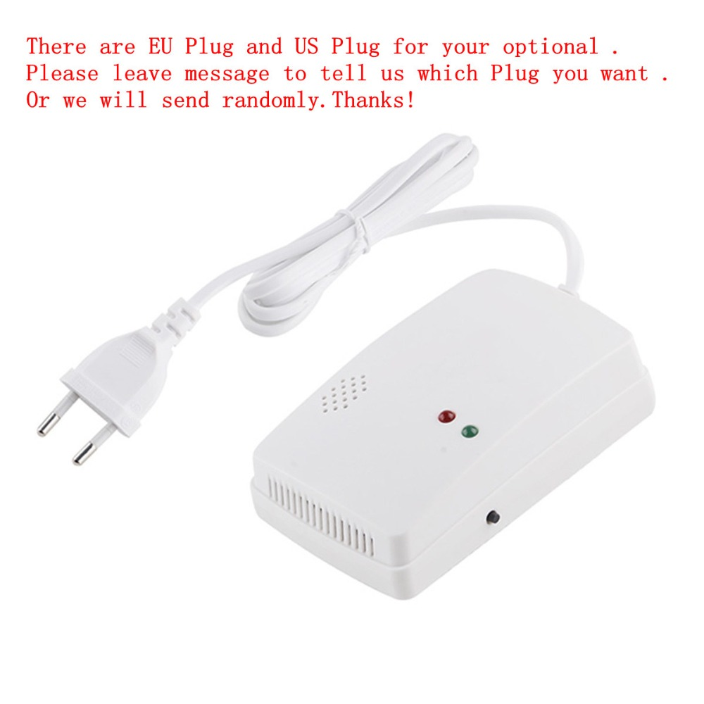 High Sensitive Portable Gas Sensor Home Security Standalone Gas Alarm Detector LPG LNG  Natural Gas Combustible Gas Detektor