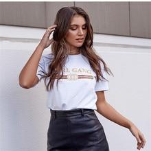 CDJLFH 2017 T-Shirt Fashion Women Short Sleeve Summer Autumn Tshirt Female Retro Tops Tee Lady T Shirt Woman Sexy T-shirts White
