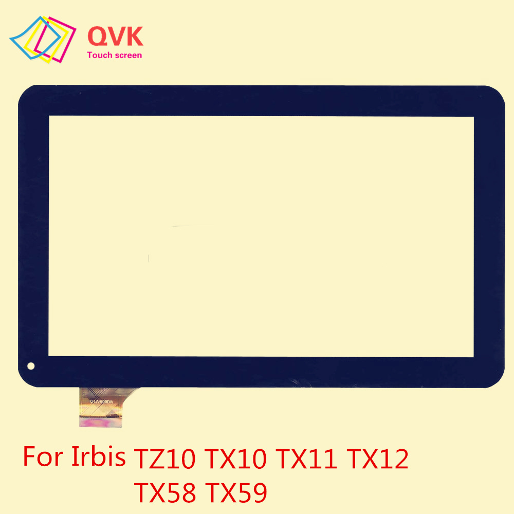 10.1 Inch Black Touch Screen For Irbis TZ14 TZ13 TZ15 TZ10 TX58 TX12 TX11 TX10 TX59 3G 4G Capacitive Touch Screen Panel