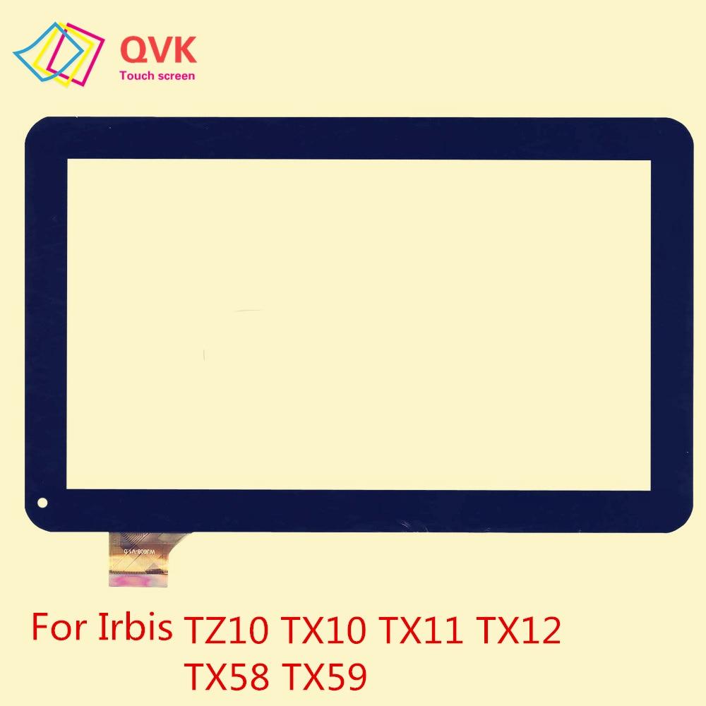 10.1 Inch Black Touch Screen For Irbis TZ14 TZ13 TZ15 TZ10 TX58 TX12 TX11 TX10 TX59 3G 4G Capacitive Touch Screen Panel