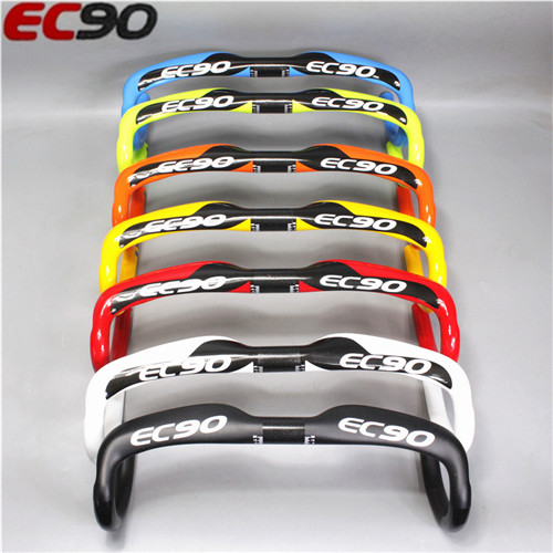 fast shipping 2017 NEW ec90 carbon handlebar road Bicycle Road Race Bicycle Handle 31 8 400