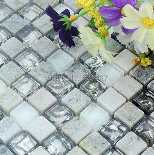 Acquista all'ingrosso online doccia piastrelle di vetro da ...