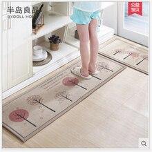 Anti-Slip Kitchen Mat Water Absorption Kitchen Carpet 50X80CM+50X160CM/Set Home Entrande Doormat Cartoon Bath Mat Bedroom Rugs