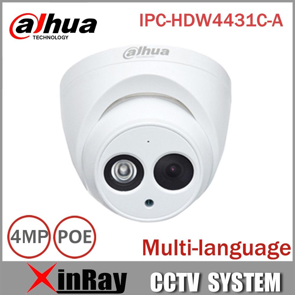 imágenes para DaHua IPC-HDW4431C-A IR Mini Domo de Red POE Cámara IP Con Una Función de Micro Full HD 1080 P CCTV Cámara de $ number MP