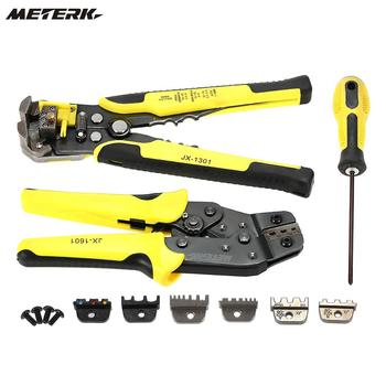 Multi tools Wire Crimper Tools Kit Engineering Ratchet Terminal Crimping Plier Wire Crimper + Wire Stripper+S2 Screwdiver Щипцы