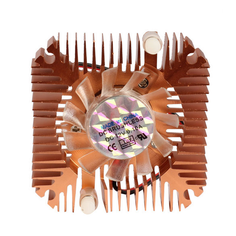 Professional 55mm CPU Cooler Cooling Fan for CPU VGA Video Card Bronze MiniP4PM High Quality ga8202u gaa8b2u 100mm 0 45a 4pin graphics card cooling fan vga cooler fans for sapphire r9 380 video card