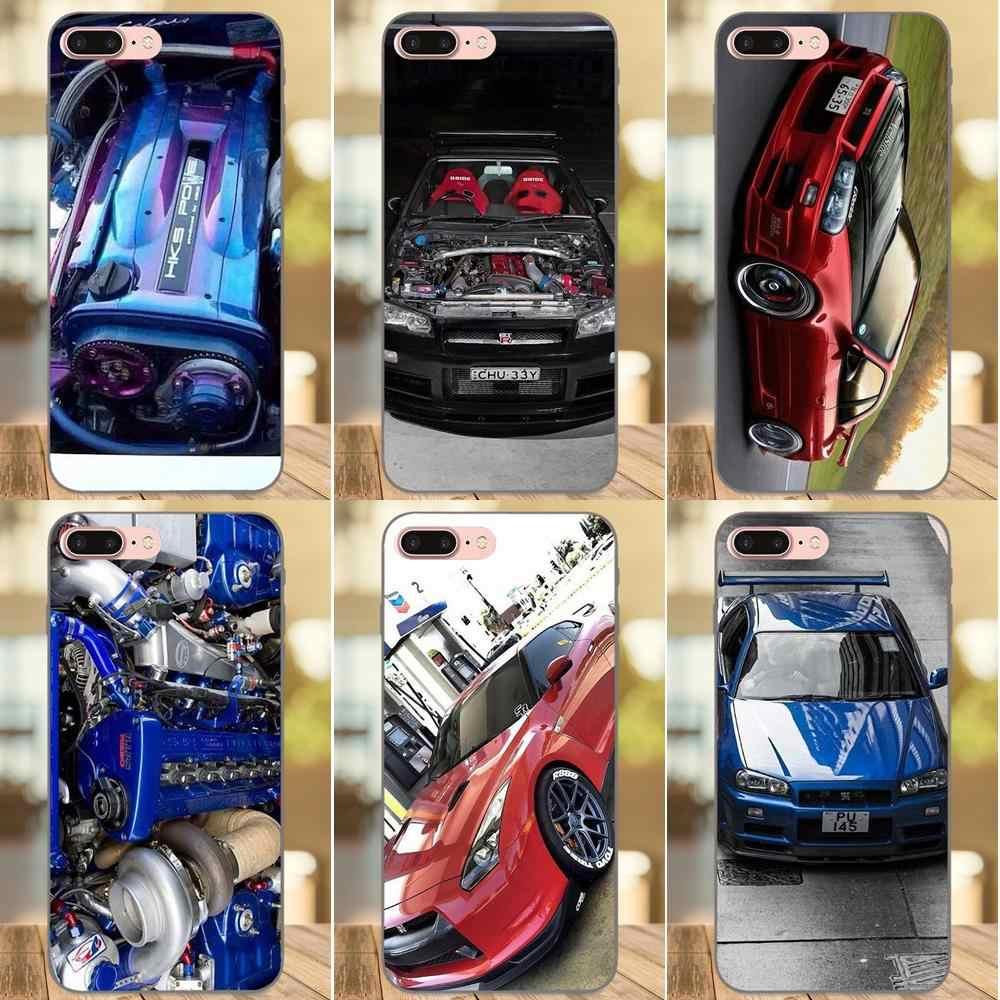 370z Nissan Coupe Sports Car Soft Transparent Cases Covers