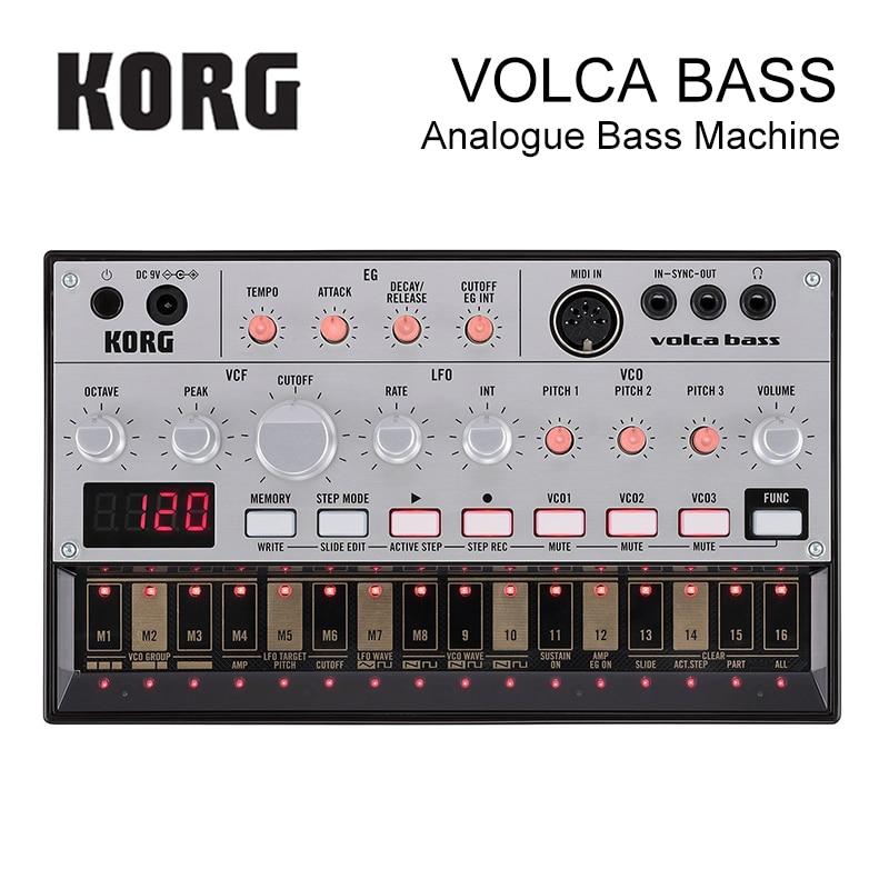 Korg Volca Bass Analog Bass Machine драм машина korg volca beats