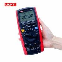UNI T UT71E интеллектуальные ЖК дисплей Цифровой мультиметр температура 0.025% DCV точность, авто ручная Диапазон мультиметр с питания Тесты режим