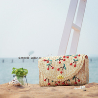 Straw Bag 2015 New Crossbody Bag Women Messenger Bags For Ladies Unusual Factory Wholesale Good Quality A1117