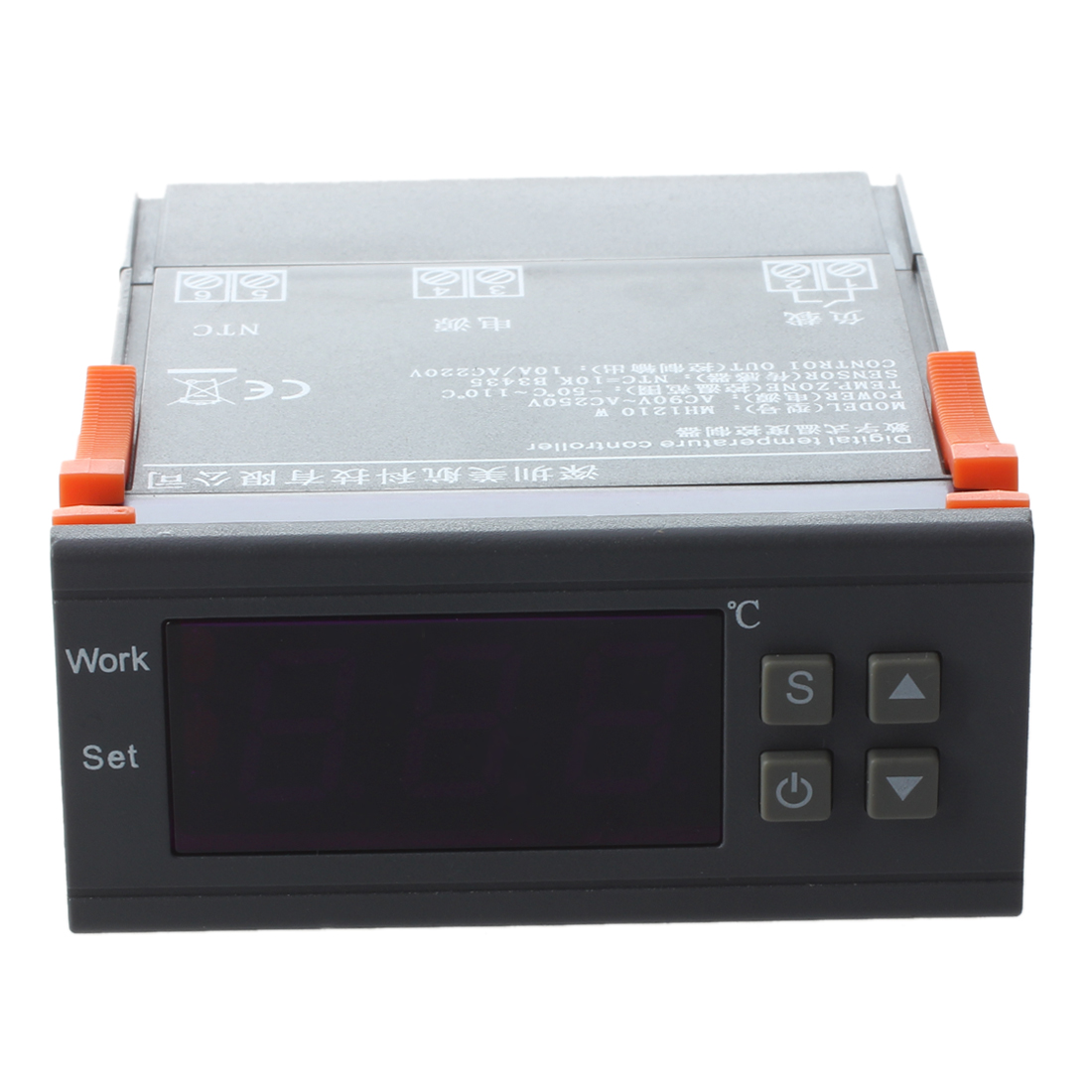 AC 90V-250V MH1210W Digital Temperature Controller Screen 0.1 Celsius Control Accuracy 10A Rated Current For Refrigerator Part