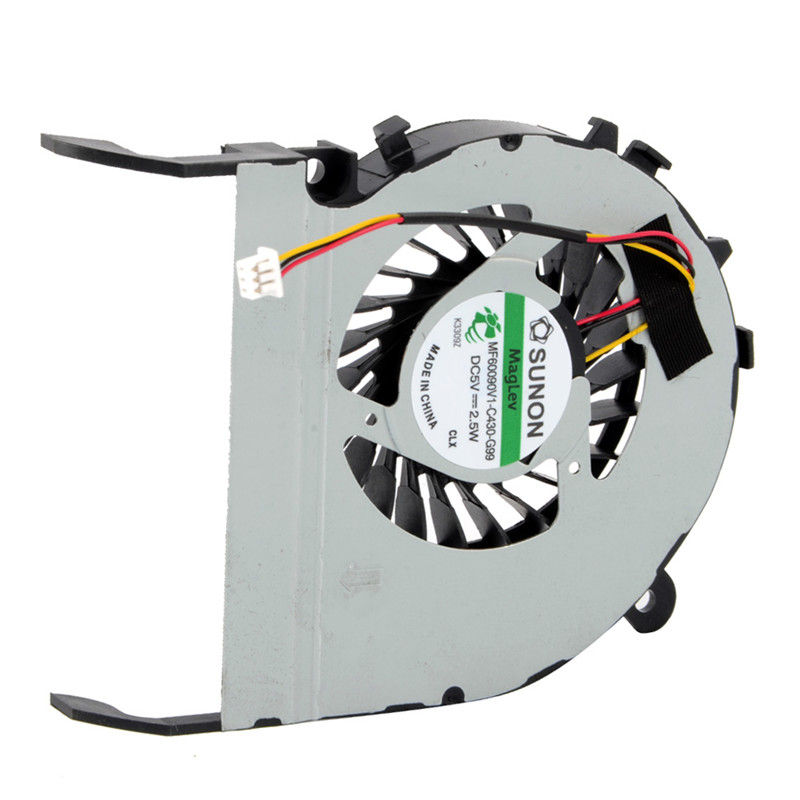 Laptops Fan Replacement Cooling CPU Cooler Fan Computer Accessories For TOSHIBA L800/L800-C05B/C800/C805/M840 P20 4 wires laptops replacements cpu cooling fan computer components fans cooler fit for hp cq42 g4 g6 series laptops p20