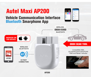 Image 5 - Autel AP200 Bluetooth Adapter OBD2 Car Scanner Automotive Diagnostic Tool Auto DIY Code Reader for IOS Android PK Maxicom MK808
