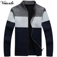 Vraxale Autumn And Winter Men S Slim Sweater New Sweater Men S Cardigan Sweater Knitted Plus