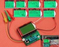 DYKB 12864 LCD GM328 트랜지스터 테스터 ESR 미터/LCR/주파수 측정기/PWM 구형파 신호 발생기 인덕터 커패시터