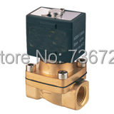 Brass 12V DC 1/2 Electric solenoid valve Water Air Fuels Gas Normal Closed