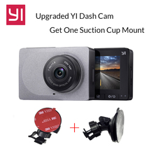 Upgraded International YI Smart Car DVR WiFi Dash Camera with Suction Cup Mount Car Camera1080P 60fps Dash Cam Registrator(China)