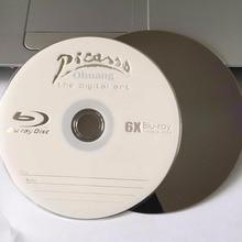 10 дисков А+ Пикассо 6x25 GB пустые печатные Blu Ray BD-R диски