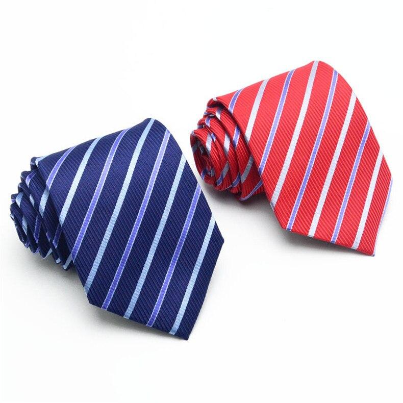 2 (1)  AWAYTR New Design Males Tie 8cm Striped Traditional Enterprise Neck Tie For Males Swimsuit For Wedding ceremony Occasion Necktie HTB1 nnaRVXXXXcgXpXXq6xXFXXX3