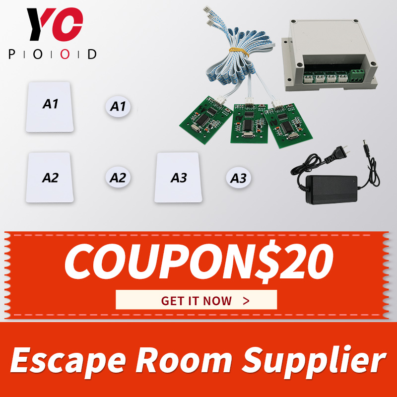 Escape Room RFID Cards Prop Real life Game Put IC Cards onto card readers in one to one relationship to unlock takagism YOPOODEscape Room RFID Cards Prop Real life Game Put IC Cards onto card readers in one to one relationship to unlock takagism YOPOOD
