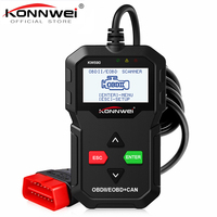 KONNWEI KW590 Universal OBD2 EOBD CAN Code Reader Diagnostic Scanner Autoscanner Engine Diagnostic Tool Better Than AD310 NL100
