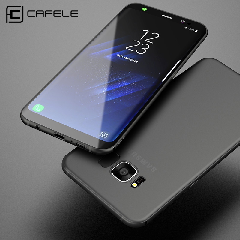 CAFELE soft TPU Case For samsung S8 / S8 plus cases Slim Back Protect Skin Ultra Thin Phone Cover for samsung Galaxy S8 plus