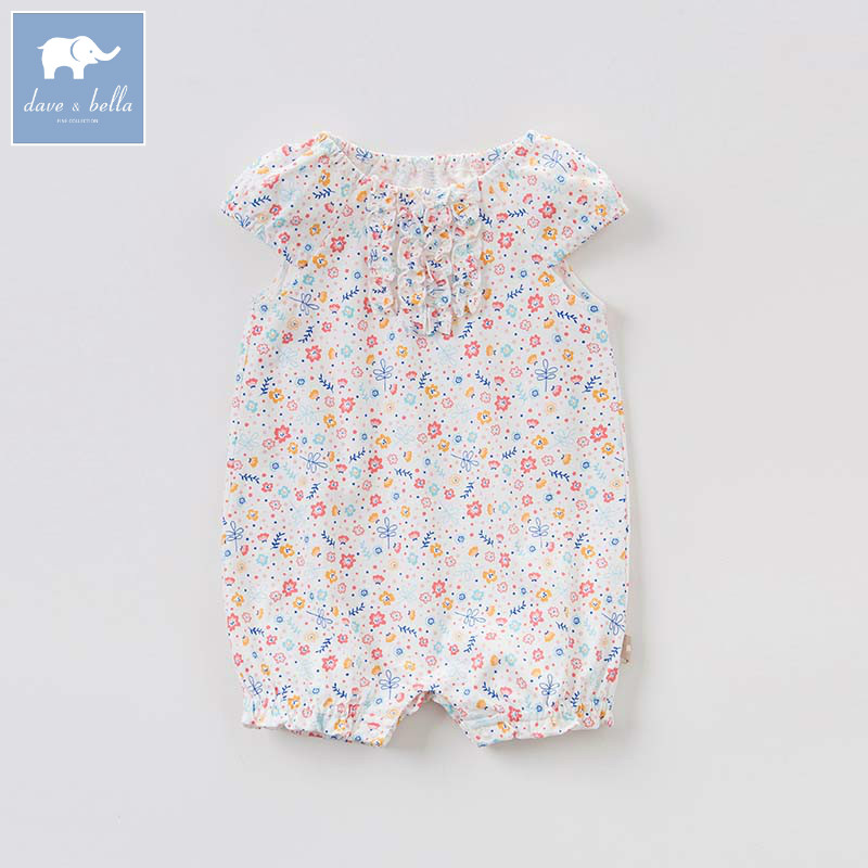 ef808f6bf3 Mono de algodón para niñas recién nacidas de David bella, ropa para niños,  ropa para niños, mameluco de verano 1 pieza DBM7502