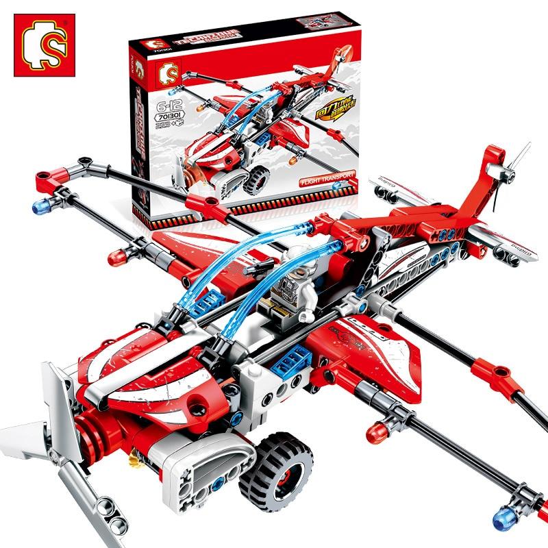 Sembo Diamon Nano Blocos Boomerang hélice planador senha Mecânica Voiture Technic Prédio de Tijolos Educacional Brinquedo de Presente