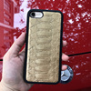 Luxury Golden Color Python Mobile Phone Case For Iphone 7 Plus