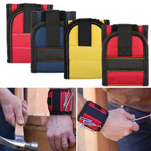 Magnetic Wristband Pocket Tool Belt Pouch Bag Screws Holder Holding Tools Practical strong Chuck wrist Toolkit