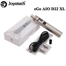 Oryginalne papierosy E Joyetech eGo AIO D22 XL z 3 5ml Atomizer Vape 2300mAh baterii tanie tanio Cylindryczny Kształt Electronic Cigarette Brak Metal 2300 mAh 22mm 106 50mm