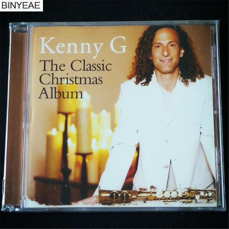 binyeae new cd seal kenny g the classic christmas album album cd disc free shipping in cd dvd player bags from consumer electronics on