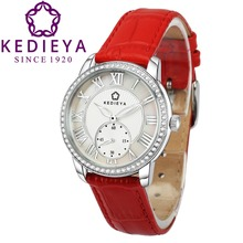 KEDIEYA Brands Watches Classic Roma Watches Women Diamond Second Dial Designer Miyota Quartz watch Ladies Girls