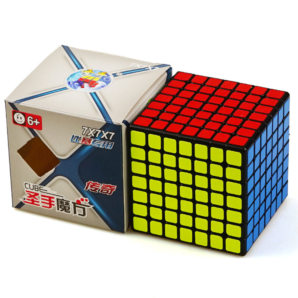 Shengshou 7x7 Cube Legend 7x7x7 Magic Cube 7Layers Speed Cube Professional Puzzle Toys For Children Kids Gift Toy