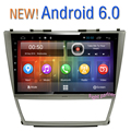 Free shipping NEW Android 6.0 Car Multimedia GPS For Toyota Camry 40 2007-2011 Quad Core ROM 16G 1024x600 HD 10.2 inch Screen